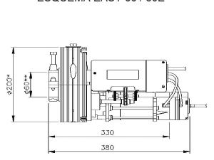 Esquema EASY60 y 60E