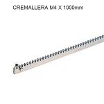 Cremallera M4 - 30x12x1000mm