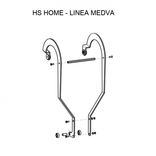 HS home herraje articulado SAXO