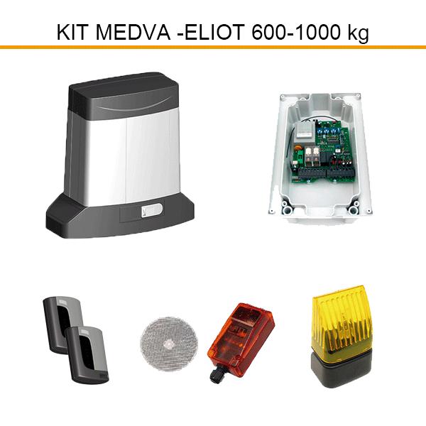 Kit motor corredera para puertas modelo ELIOT.